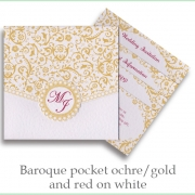 baroque gold red white
