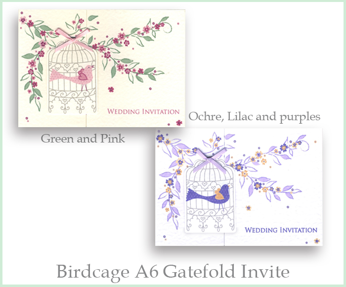 Wedding Invitations Birdcage: We Are Tickled Pink