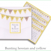 bunting hessian yellow