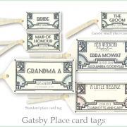 gatsby deco wedding invitation 12