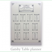 gatsby deco wedding invitation 20