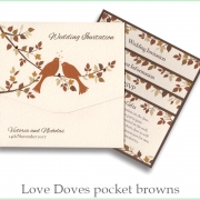 love doves pf brown