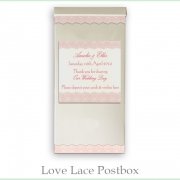 Love Lace postbox