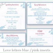 Cyprus wedding invite