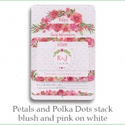 p and p stack blush pink white
