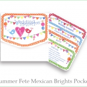 Summer fete pocket brights