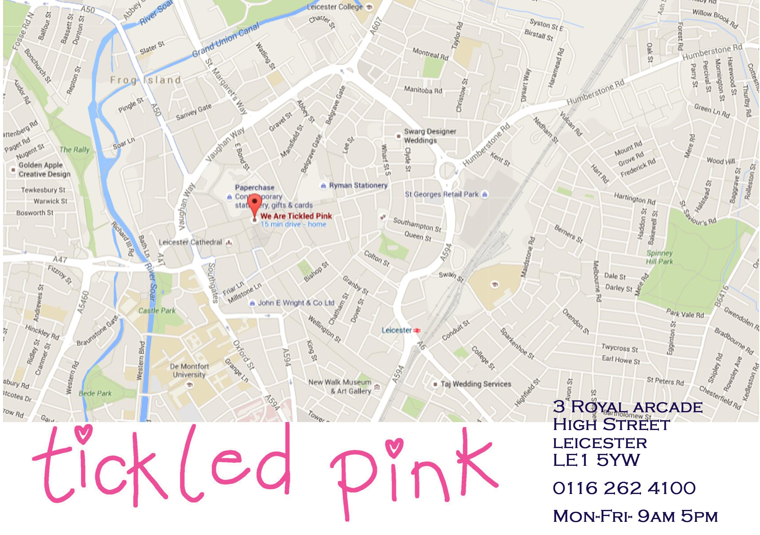 Contact Us Royal Arcade Tickled Pink Wedding Stationery