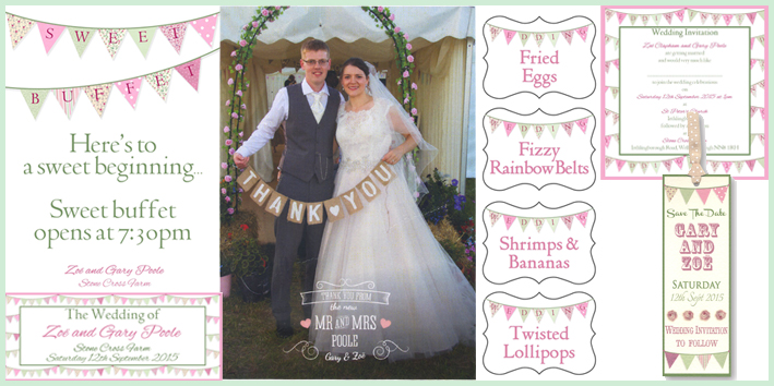 Happy Couples feedback for Tickled Pink