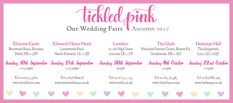 2017 autumn wedding fairs